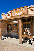 The White House Saloon at the ghost town of Randsburg, California