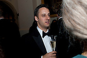 ADAM FOULDS, The 2009 Booker Prize dinner. Guildhall. London. 6 October 2009