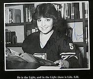 11th September 2008, Wasilla, Alaska. The US Republican Vice Presidential pick Sarah Palin (was Heath) in her 1982 school yearbook photo.  PHOTO SUPPLIED BY JOHN CHAPPLE / REBEL IMAGES.tel: +1-310-570-910