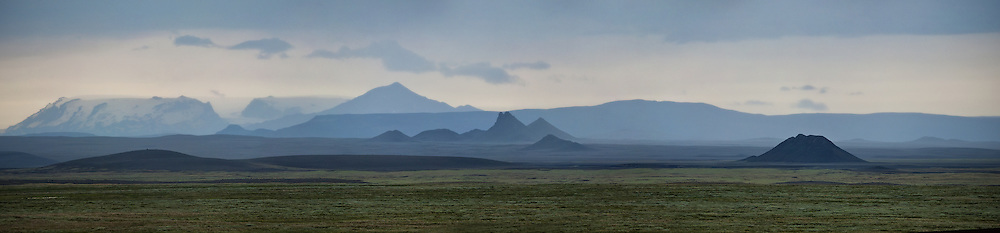 Askja and the Upptyppingar area in the highlands of Iceland