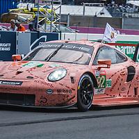 #92, Porsche Motorsport, Porsche 911 RSR,LMGTE Pro, driven by: Michael Christensen, Kevin Estre, Laurens Vanthoor  on 17/06/2018 at the 24H of Le Mans, 2018