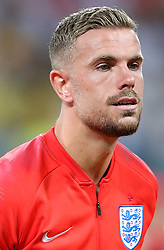 England's Jordan Henderson prior to kick-off during the FIFA World Cup Group G match at The Volgograd Arena, Volgograd.
