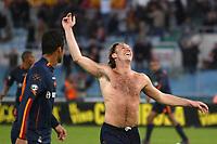 Roma 3/3/2004 Uefa Cup Third Round <br />Roma Gaziatenspor 2-0 (AS Roma qualified) <br />Antonio Cassano festeggia il gol del 2-0 con Amantino Mancini<br />Antonio Cassano celebrates gol of 2-0 for AS Roma<br />Foto Andrea Staccioli Digitalsport