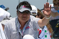 Dong Young Kim during the Pro-Am race at Korea Match Cup 2010.   Korea Match Cup, Gyeonggi, Korea. 8 June 2010.