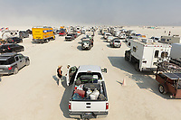 Just my people waiting to enter Burning Man. I love meeting people in line. Like this burner who goes by the playa name Happy. She was the best and we had a moment. My Burning Man 2018 Photos:<br /> https://Duncan.co/Burning-Man-2018<br /> <br /> My Burning Man 2017 Photos:<br /> https://Duncan.co/Burning-Man-2017<br /> <br /> My Burning Man 2016 Photos:<br /> https://Duncan.co/Burning-Man-2016<br /> <br /> My Burning Man 2015 Photos:<br /> https://Duncan.co/Burning-Man-2015<br /> <br /> My Burning Man 2014 Photos:<br /> https://Duncan.co/Burning-Man-2014<br /> <br /> My Burning Man 2013 Photos:<br /> https://Duncan.co/Burning-Man-2013<br /> <br /> My Burning Man 2012 Photos:<br /> https://Duncan.co/Burning-Man-2012