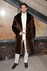 Mark Francis Vandelli at the Julien Macdonald Autumn/Winter 2017 London Fashion Week show at Goldsmiths' Hall, London. Photo credit should read: Doug Peters/ EMPICS Entertainment