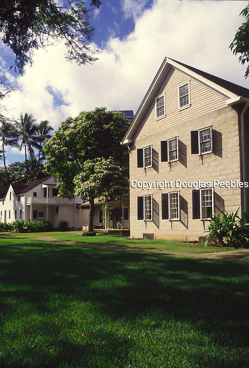 Missions Houses, Honolulu, Oahu, Hawaii<br />