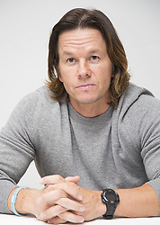 November 18, 2016 - Hollywood, California, U.S. - MARK WAHLBERG promotes movie 'Patriots Day.' Mark Robert Michael Wahlberg (born June 5, 1971) is an American actor, producer, businessman and former model and rapper. He was known as Marky Mark in his earlier years, as frontman with the band Marky Mark and the Funky Bunch, releasing the albums Music for the People and You Gotta Believe. Wahlberg later transitioned to acting, appearing in films such as the drama Boogie Nights and the satirical war comedy-drama Three Kings during the 1990s. In the 2000s, he starred in the biographical disaster drama The Perfect Storm, the science-fiction film Planet of the Apes, and received an Academy Award nomination for Best Supporting Actor in the Martin Scorsese-directed neo-noir crime drama The Departed. In the 2010s, he starred in the action-comedy The Other Guys alongside Will Ferrell, the biographical sports drama The Fighter (for which he earned an Academy Award nomination as a producer for Best Picture), the comedy Ted, the war film Lone Survivor and the science-fiction action film Transformers: Age of Extinction. Upcoming: The Roman (producer, announced), Patriots Day (2016 actor, producer). (Credit Image: © Armando Gallo/ZUMA Studio)
