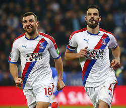 February 23, 2019 - Leicester, England, United Kingdom - Crystal Palace's Luka Milivojevic celebrate his goal.during English Premier League between Leicester City and Crystal Palace at King Power stadium , Leicester, England on 23 Feb 2019. (Credit Image: © Action Foto Sport/NurPhoto via ZUMA Press)