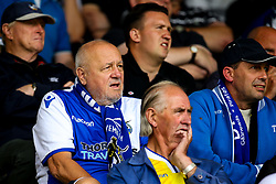 Bristol Rovers fans at Wycombe Wanderers - Mandatory by-line: Robbie Stephenson/JMP - 18/08/2018 - FOOTBALL - Adam's Park - High Wycombe, England - Wycombe Wanderers v Bristol Rovers - Sky Bet League One