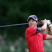 Ryo Ishikawa, Japan, in action during the fourth round of theThe Barclays Golf Tournament at The Ridgewood Country Club, Paramus, New Jersey, USA. 24th August 2014. Photo Tim Clayton