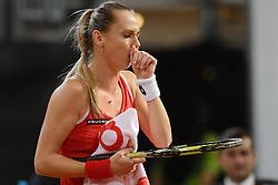 07-02-2015 NED: Fed Cup Nederland - Slowakije, Apeldoorn<br /> Magdalena Rybarikova.