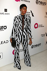 February 24, 2019 - West Hollywood, CA, USA - LOS ANGELES - FEB 24:  Damaris Lewis at the Elton John Oscar Viewing Party on the West Hollywood Park on February 24, 2019 in West Hollywood, CA (Credit Image: © Kay Blake/ZUMA Wire)