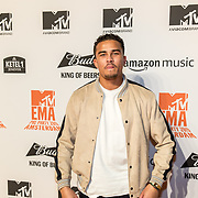 NLD/Amsterdam/20191028 - MTV Pre Party in Amsterdam, Quincy Kluivert