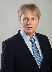 Editor Bostjan Debevec posing on May 27, 2021 in Druzina, Ljubljana, Slovenia. Photo by Vid Ponikvar / Sportida