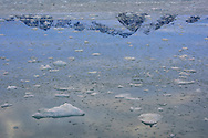 Ice melting, Svalbard, Norway, Arctic