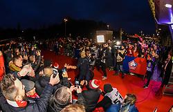 March 15, 2019 - Lille, France - Supporters de l equipe LOSC - ambiance - Arrivee des joueurs de LOSC - Jonathan Bamba  (Credit Image: © Panoramic via ZUMA Press)