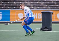AMSTELVEEN  - Jelle Galema (Ned)  tijdens  training Nederlands hockeyteam mannen voor de Pro League wedstrijden tegen Groot Brittannie , eind oktober, .  COPYRIGHT KOEN SUYK