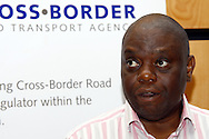 CENTURION, GAUTENG - 20 October 2010 - South Africa's National Director of Transport George Mahlalela addresses a conference on cross border taxi operators. -- APP/Allied Picture Press