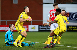Billy Bodin of Bristol Rovers celebrates after scoring his sides first goal - Mandatory by-line: Matt McNulty/JMP - 14/01/2017 - FOOTBALL - Highbury Stadium - Fleetwood, England - Fleetwood Town v Bristol Rovers - Sky Bet League One