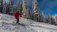 Skiing, Keystone Resort, Colorado USA.