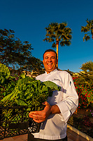 Executive sous chef Muryad Elaymi, the Radisson Blu Tala Bay Resort on the Gulf of Aqaba, Red Sea, near Aqaba, Jordan.