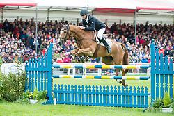 Nicholson Andrew, (NZL), Nereo<br /> Jumping<br /> Mitsubishi Motors Badminton Horse Trials - Badminton 2015<br /> © Hippo Foto - Jon Stroud