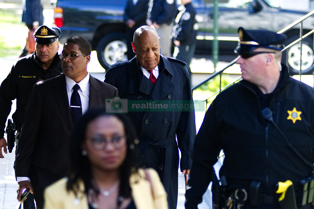 April 26, 2018 - Norristown, Pennsylvania, U.S. - Bill Cosby arrives for the second day of jury deliberations at Montgomery County Court House, in Norristown, PA, on April 26, 2018. (Credit Image: © Bastiaan Slabbers/NurPhoto via ZUMA Press)