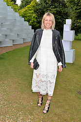 Style blogger EMMA THATCHER at a party hosted by fashion store COS to celebrate The Serpentine Park Nights 2016 held at The Serpentine Gallery, Kensington Gardens, London on 12th July 2016.