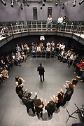 Photo by Mara Lavitt<br /> October 28, 2017<br /> Yale University, New Haven, CT<br /> Photography: ©Mara Lavitt<br /> The dedication celebration of the Lighten Theater at Pauli Murray College, Yale. The theater was dedicated in the memory of Janifer Funches Lighten, '83.