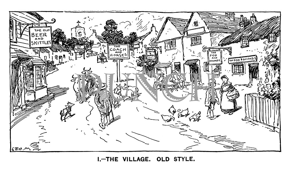 1. - The Village. Old Style.