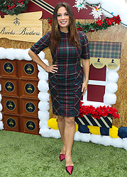 BEVERLY HILLS, LOS ANGELES, CA, USA - DECEMBER 09: Actress Ashley Greene arrives at the Brooks Brothers Annual Holiday Celebration In Los Angeles To Benefit St. Jude 2018 held at the Beverly Wilshire Four Seasons Hotel on December 9, 2018 in Beverly Hills, Los Angeles, California, United States. 09 Dec 2018 Pictured: Alex Meneses. Photo credit: Xavier Collin/Image Press Agency/MEGA TheMegaAgency.com +1 888 505 6342