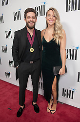 Nov. 13, 2018 - Nashville, Tennessee; USA - Musician THOMAS RHETT and his wife LAUREN ATKINS attends the 66th Annual BMI Country Awards at BMI Building located in Nashville.   Copyright 2018 Jason Moore. (Credit Image: © Jason Moore/ZUMA Wire)