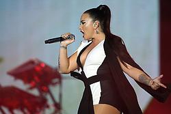 June 24, 2018 - Lisbon, Portugal - US singer Demi Lovato performs at the Rock in Rio Lisboa 2018 music festival in Lisbon, Portugal, on June 24, 2018. (Credit Image: © Pedro Fiuza/NurPhoto via ZUMA Press)