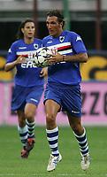 Milano 13/8/2004 Trofeo Seat. Milan - Sampdoria 2-2. Sampdoria won after penalties - Sampdoria vince ai rigori.<br /> <br /> Fabio Bazzani Sampdoria <br /> <br /> Foto Andrea Staccioli Graffiti