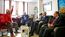 Almoço realizado na residência do ex-governador Alceu Colares com Vieira da Cunha e o pre-candidato José Fortunati demonstra a unidade do PDT em torno das causas trabalhistas. FOTO: Jefferson Bernardes/Preview.com, DIVULGAÇÃO
