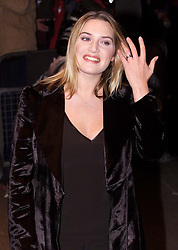 London Film Festival, Premier of Quills, starring Kate Winslet, Michael Caine, Joaquin Pheonix and Geoffrey Rush. Kate Winslet. November 3, 2000..Photo by Andrew Parsons/i-Images..