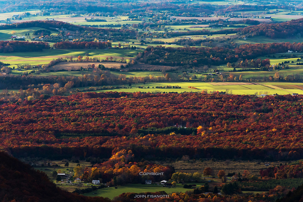 Shenandoah Valley in the autumn