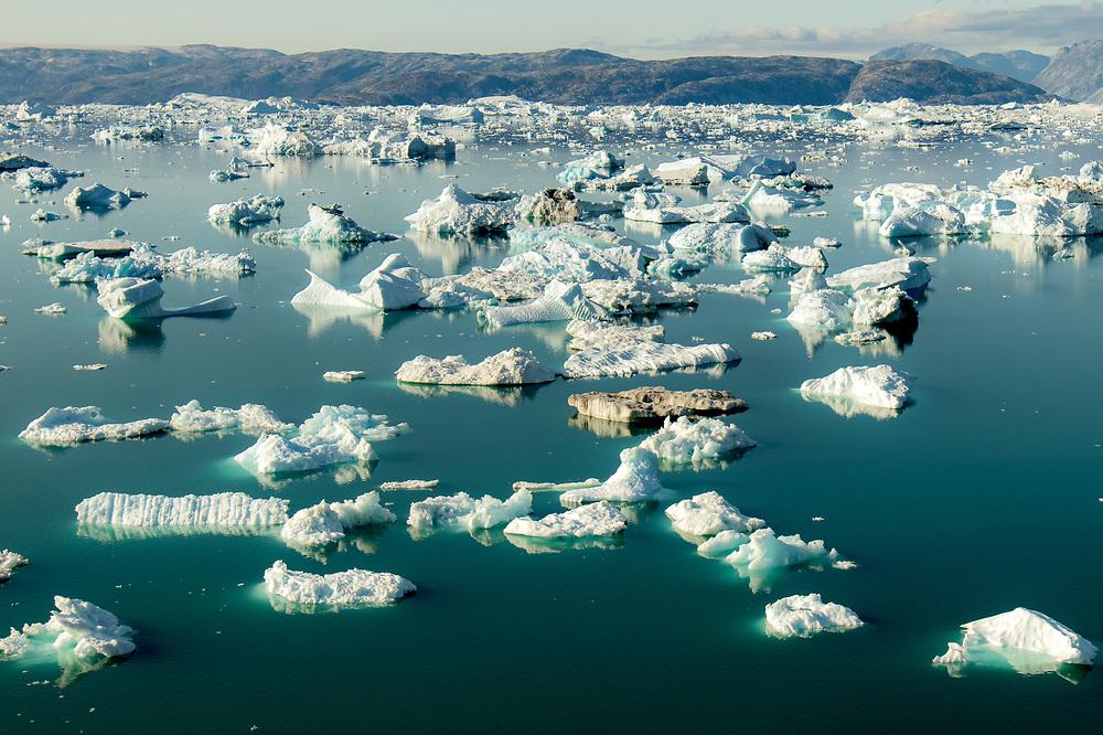 Iceberg at Sermilik Fjord in East Greenland