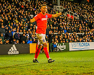 Anthony Knockaert of Brighton and Hove Albion during the Sky Bet Championship match at Craven Cottage, London<br /> Picture by Richard Brooks/Focus Images Ltd 07947656233<br /> 02/01/2017