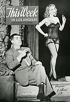 1946 Cover of Blackouts Magazine