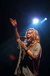 Cerys Matthews of Catatonia performs, T in the Park, Balado, Fife, 7/7/2001..©2010 Michael Schofield. All Rights Reserved.