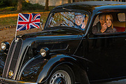 Will and Kate join the event passing Horse Guards Parade and the RAC come to help - The London to Brighton Veteran Car Run, which dates back to 1927, was founded to commemorate the Emancipation Run of 1896, which celebrated the new-found freedom of motorists granted by the 'repeal of the Red Flag Act.' The Act raised the speed limit to 14mph and abolished the need for a man carrying a red flag to walk ahead of the cars whenever they were being driven. It is the longest running motoring event in the world, this year has a French theme in honour of the country's contribution to motoring's early days. It is is organised by the Royal Automobile Club.
