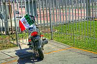 Motorcycle @ USA-Mexico International Border
