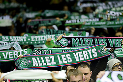 January 16, 2019 - Saint Etienne, France, FRANCE - Supporters de St Etienne - Ambiance.echarpes (Credit Image: © Panoramic via ZUMA Press)