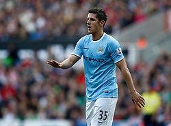 Manchester City's Stevan Jovetic - Photo mandatory by-line: Matt Bunn/JMP - Tel: Mobile: 07966 386802 14/09/2013 - SPORT - FOOTBALL -  Britannia Stadium - Stoke-On-Trent - Stoke City V Manchester City - Barclays Premier League