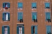 Italie - Toscane - Livorno - Façade