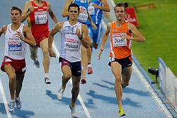 29-07-2010 ATLETIEK: EUROPEAN ATHLETICS CHAMPIONSHIPS: BARCELONA<br /> Arnaud Okken plaatst zich voor de finale 800 meter<br /> ©2010-WWW.FOTOHOOGENDOORN.NL