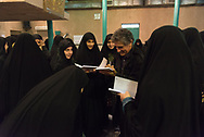 Theran Iran , Jamaran in the North of tehran is the former residence of the imam Khomeyni, today a museum.