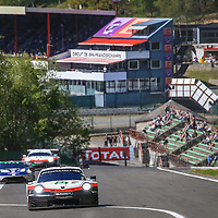 #91, Porsche Motorsport, Porsche 911 RSR, LMGTE Pro, driven by: Richard Lietz, Gianmaria Bruni, FIA WEC 6hrs of Spa 2018, 05/05/2018,